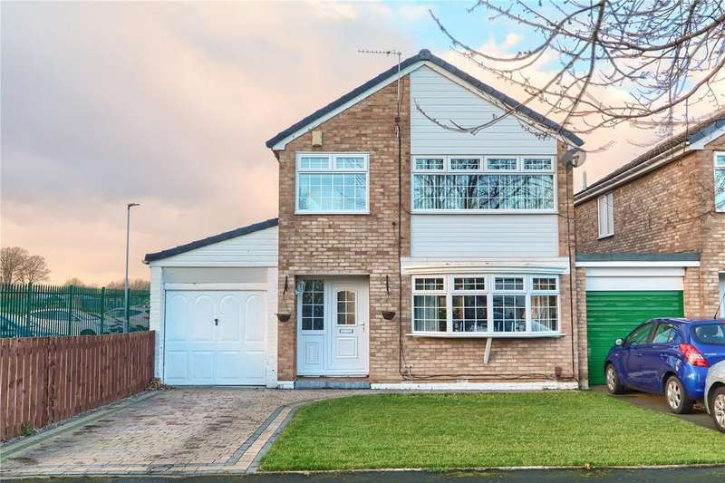 3 Bedrooms Link Detached House for sale in Avalon Court, Hemlington