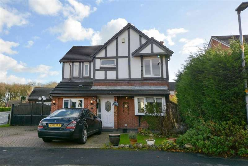 4 Bedrooms Detached House for sale in Edgeway Road, Hawkley Hall, Wigan, WN3