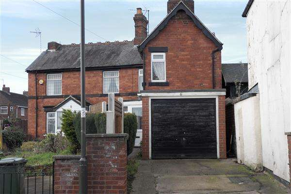 2 Bedrooms Cottage House for sale in Loscoe Denby Lane, Loscoe