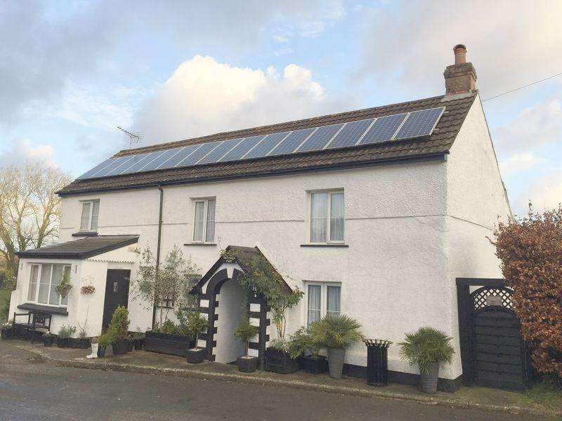 4 Bedrooms Detached House for sale in Pancrasweek, Holsworthy