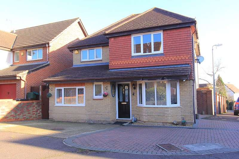 4 Bedrooms Detached House for sale in Peppercorn Close, Colchester, Essex, CO4