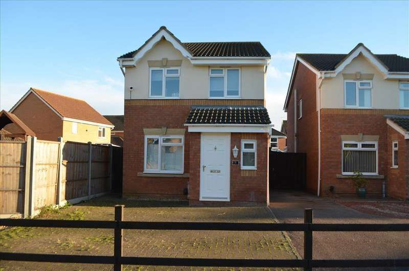 3 Bedrooms Detached House for sale in Linnet Close, Sandy, SG19