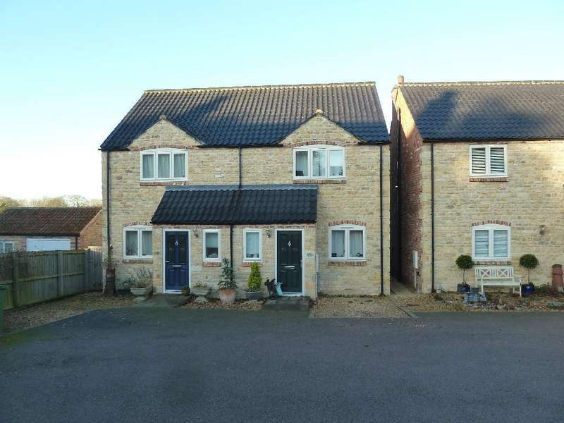 2 Bedrooms Semi Detached House for sale in Waltham on the Wolds