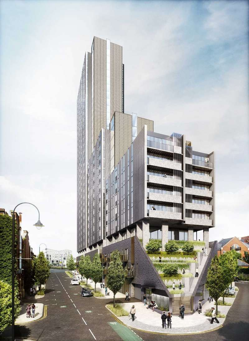 2 Bedrooms Apartment Flat for sale in Oxygen, Tower Two, 49 Store Street, Manchester, M1