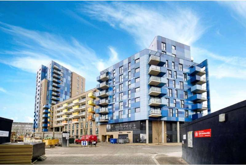 1 Bedroom Apartment Flat for sale in Greenwich Collection, Central Park, Greenwich, London, SE10