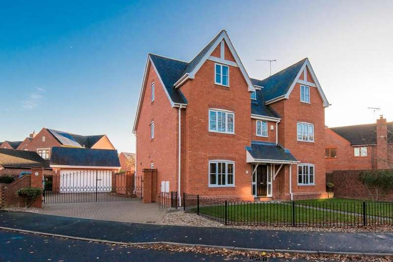 6 Bedrooms Detached House for sale in Brockhurst Lane, Shirley, Solihull