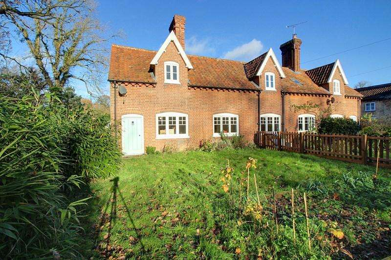 2 Bedrooms Semi Detached House for rent in The Street, Heydon, Norwich