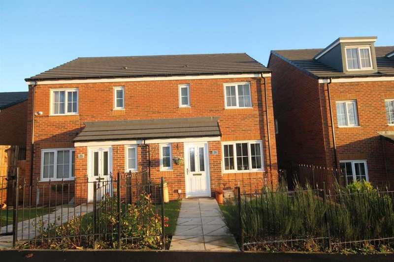3 Bedrooms Semi Detached House for sale in Ivatt Walk, Shildon