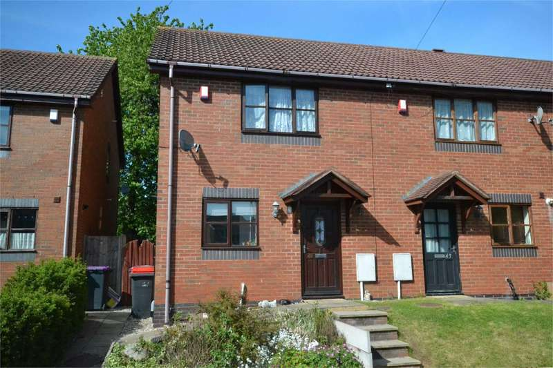 3 Bedrooms Terraced House for sale in 42 Weavers Court, Ketley Bank, Telford, Shropshire, TF2