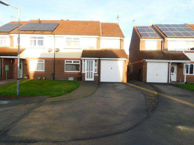 4 Bedrooms Semi Detached House for sale in BEECHWOOD DRIVE, BISHOP AUCKLAND, BISHOP AUCKLAND