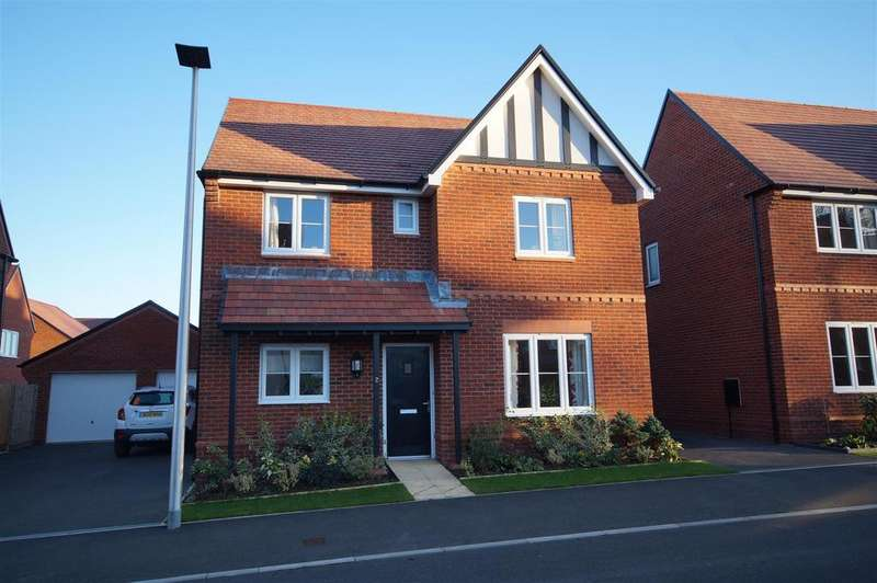 4 Bedrooms Detached House for sale in Colwill Walk, Bideford