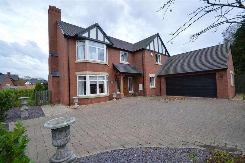 5 Bedrooms Detached House for sale in White Birches, 2 Lewis Way, Bicton, Shrewsbury, SY3 8DW