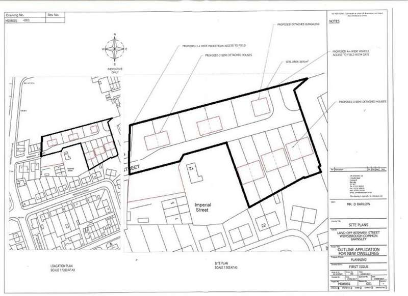 Land Commercial for sale in Bismarck Street, Worsbrough, Barnsley, S70
