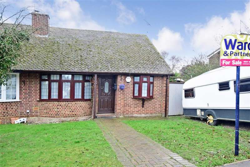 2 Bedrooms Semi Detached Bungalow for sale in Albion Close, , Herne Bay, Kent