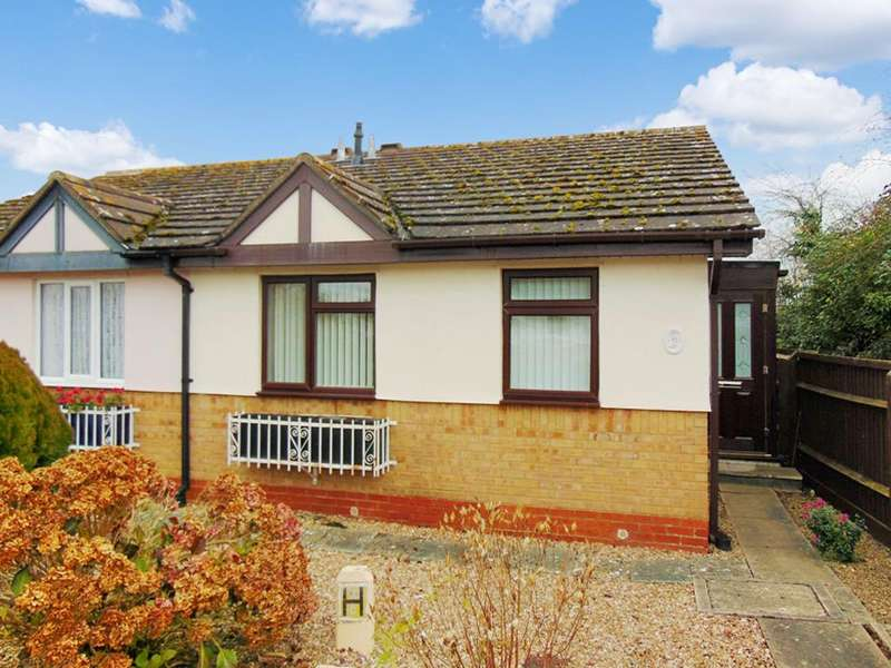 2 Bedrooms Semi Detached Bungalow for sale in St. Marys Road, Evesham