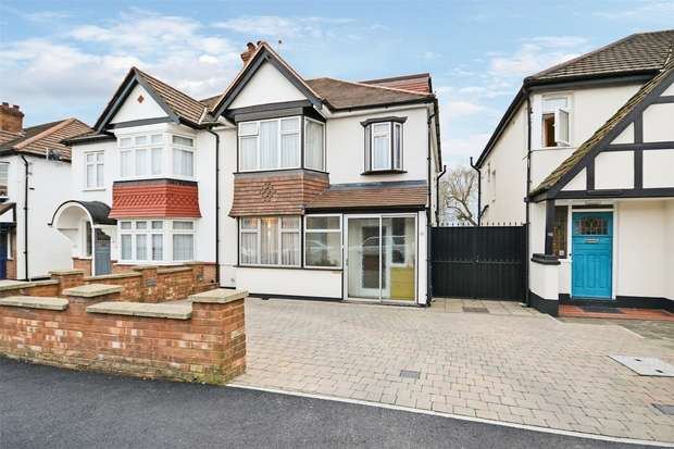 4 Bedrooms Semi Detached House for sale in Stilecroft Gardens, WEMBLEY, Middlesex