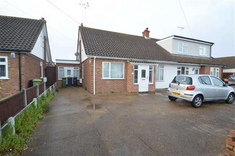 3 Bedrooms Semi Detached Bungalow for sale in Ashcombe, Rochford, Essex