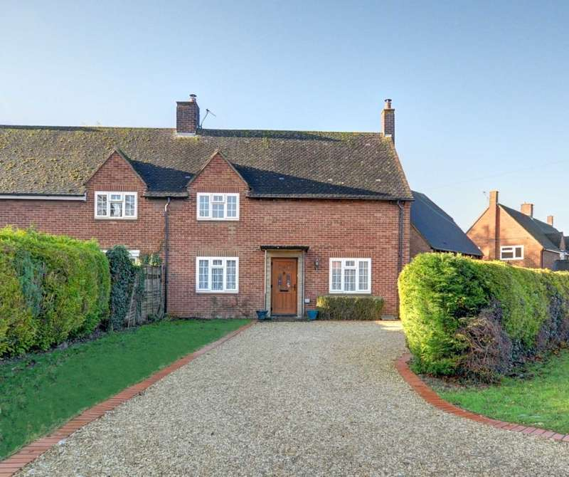 4 Bedrooms Semi Detached House for sale in Kingston Blount