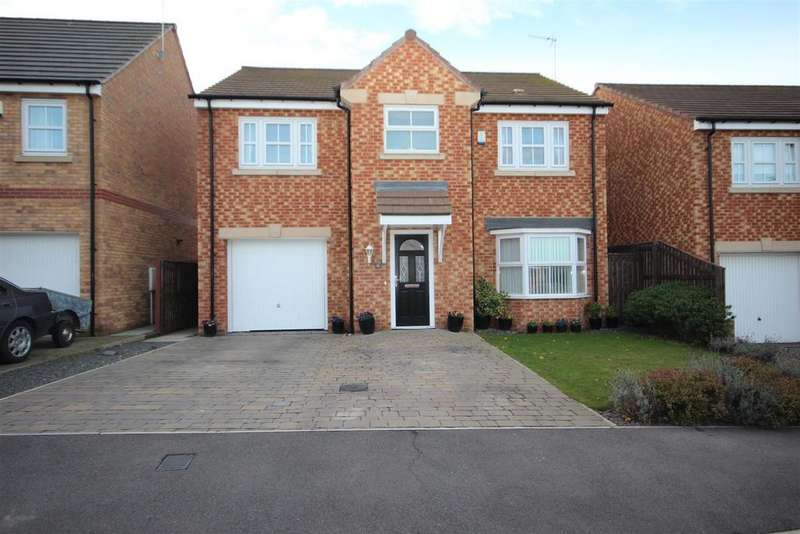 4 Bedrooms Detached House for sale in Tulip Close, Bishop Cuthbert, Hartlepool