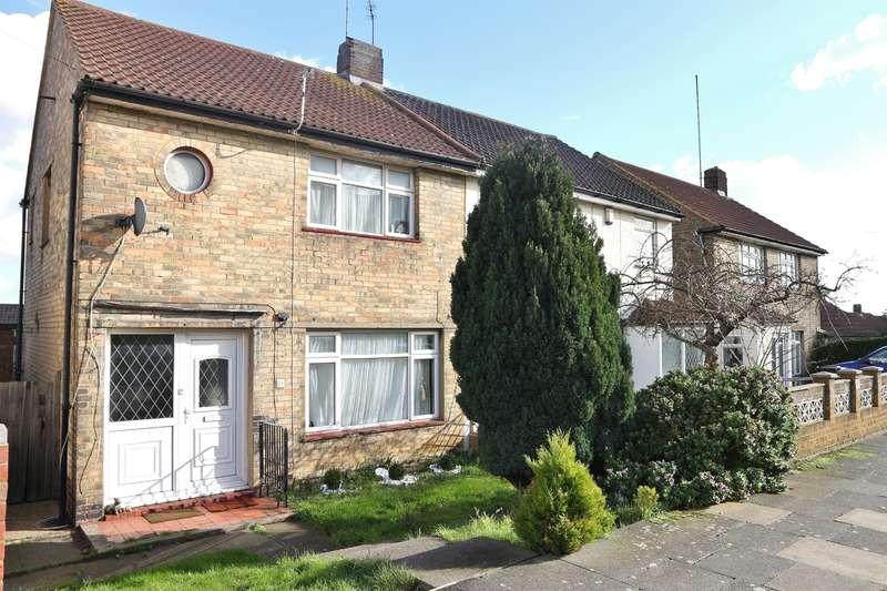 2 Bedrooms Semi Detached House for sale in Detling Road, Erith, Kent, DA8 3JL