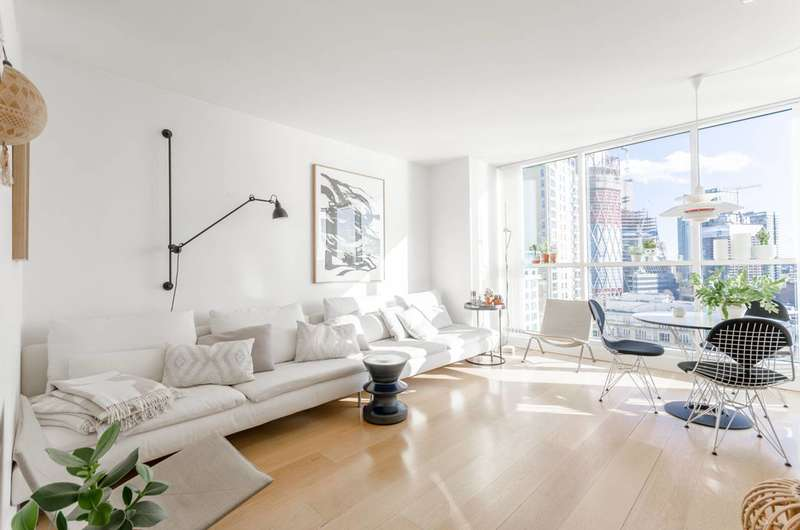 2 Bedrooms Flat for sale in Belgrave Court, Canary Wharf, E14