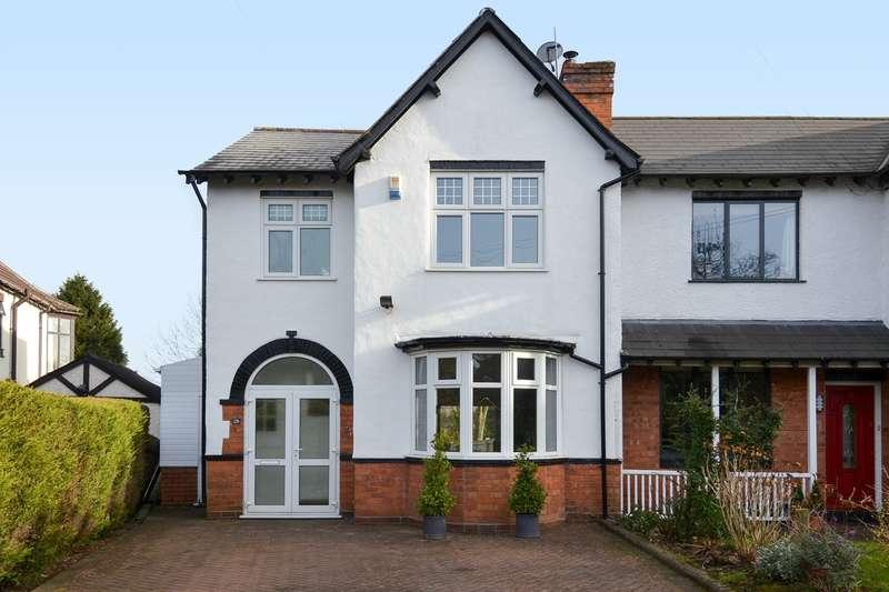 3 Bedrooms Semi Detached House for sale in Rednal Road, Kings Norton, Birmingham, B38