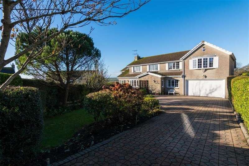 5 Bedrooms Detached House for sale in Brynview Close, Reynoldston, Swansea