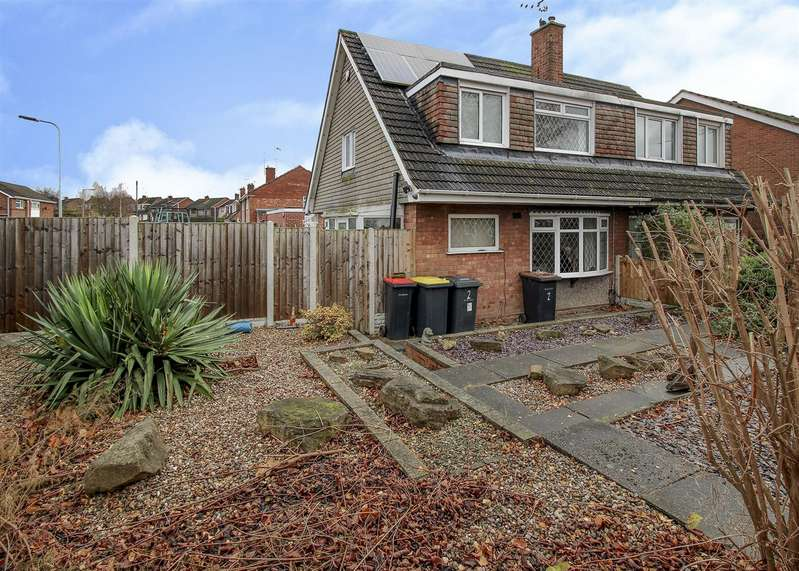 3 Bedrooms Semi Detached House for sale in Kennedy Drive, Stapleford, Nottingham
