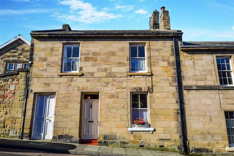 4 Bedrooms Terraced House for sale in Upper Howick Street, Alnwick, Northumberland