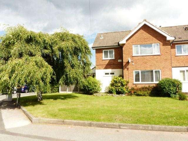 3 Bedrooms Semi Detached House for sale in Bracken Way, Streetly