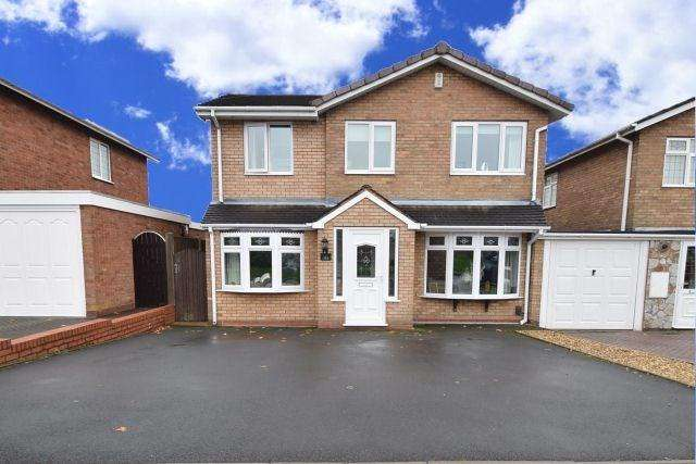 4 Bedrooms Detached House for sale in Stroud Avenue, Willenhall