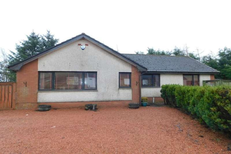 3 Bedrooms Detached Bungalow for sale in Ayr Road, Glespin, Lanark, ML11
