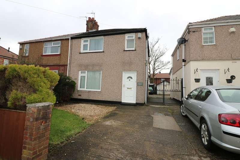 2 Bedrooms Semi Detached House for sale in Glenwood Road, Little Sutton, Ellesmere Port, CH66