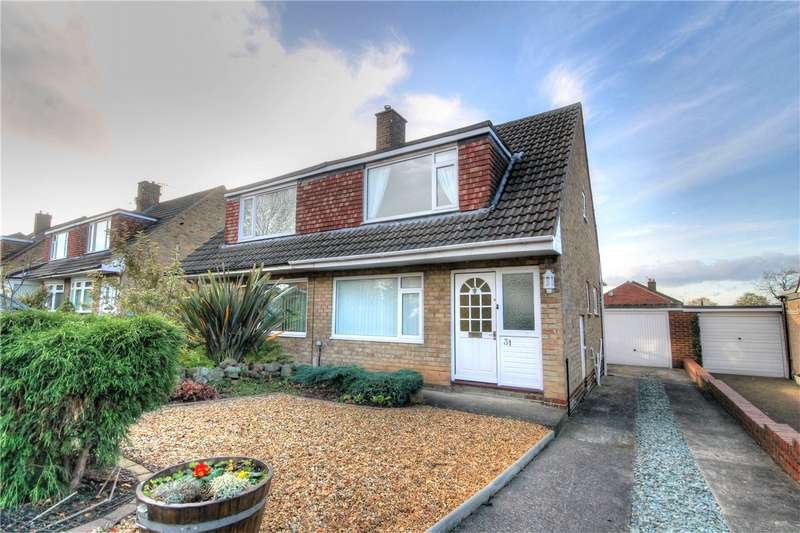 3 Bedrooms Semi Detached House for sale in Coverley, Great Lumley, Chester Le Street, DH3