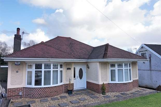 3 Bedrooms Detached Bungalow for sale in Compton Road, Neath, West Glamorgan