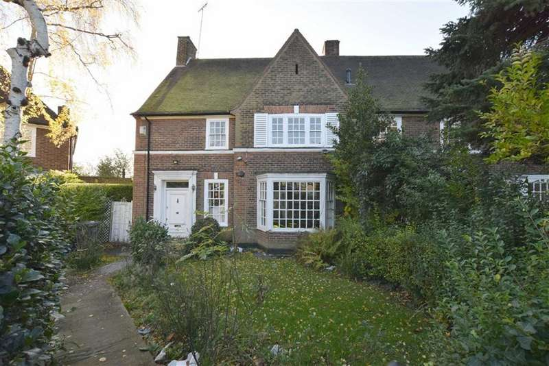 4 Bedrooms Semi Detached House for sale in Gurney Drive, Hampstead Garden Suburb, London, N2
