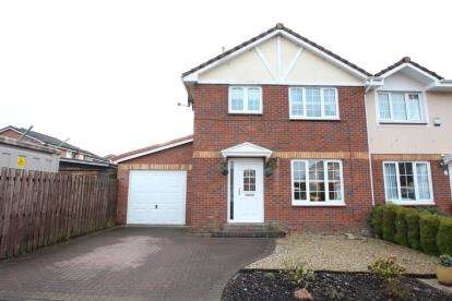 3 Bedrooms Semi Detached House for sale in Crofters Gate, East Whitburn