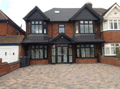 6 Bedrooms Semi Detached House for sale in Eastbourne Avenue, Hodge Hill, Birmingham, West Midlands