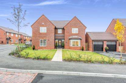 4 Bedrooms Detached House for sale in Lanthorne Close, Martley, Worcester, Worcestershire