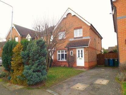 3 Bedrooms Semi Detached House for sale in Nightingale Way, Bingham, Nottingham, Nottinghamshire