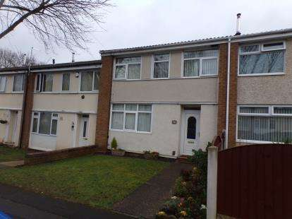 2 Bedrooms Terraced House for sale in Eddleston Drive, Clifton, Nottingham, Nottinghamshire