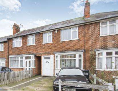 3 Bedrooms Terraced House for sale in Checketts Close, Leicester, Leicestershire