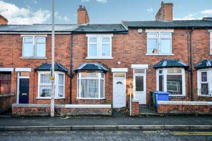2 Bedrooms Terraced House for sale in Union Street, Mansfield, Nottinghamshire