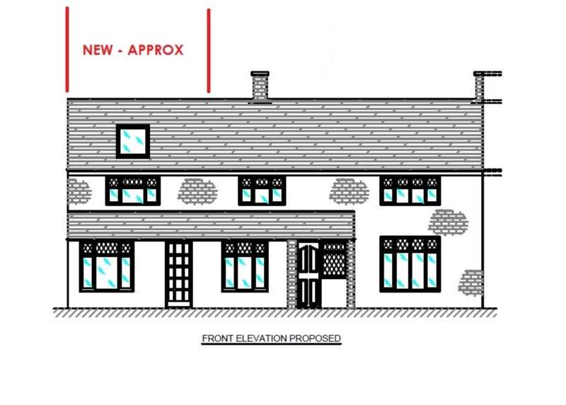 Plot Commercial for sale in PLOT FOR 3 BEDROOM HOUSE ADJACENT TO EXISTING IN Broadfield Road,