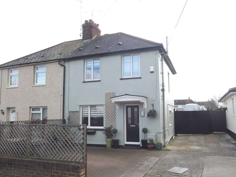 3 Bedrooms Semi Detached House for sale in Rectory Road, Writtle
