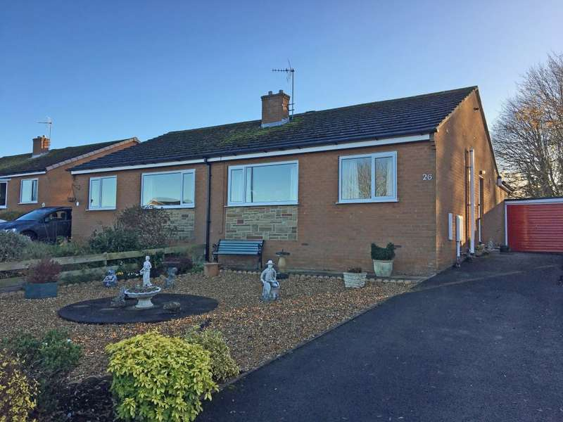 2 Bedrooms Semi Detached Bungalow for rent in 26 Ash Tree Road, Bedale, DL8 1UQ
