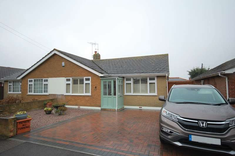 2 Bedrooms Semi Detached Bungalow for sale in Oakwood Drive, Whitstable