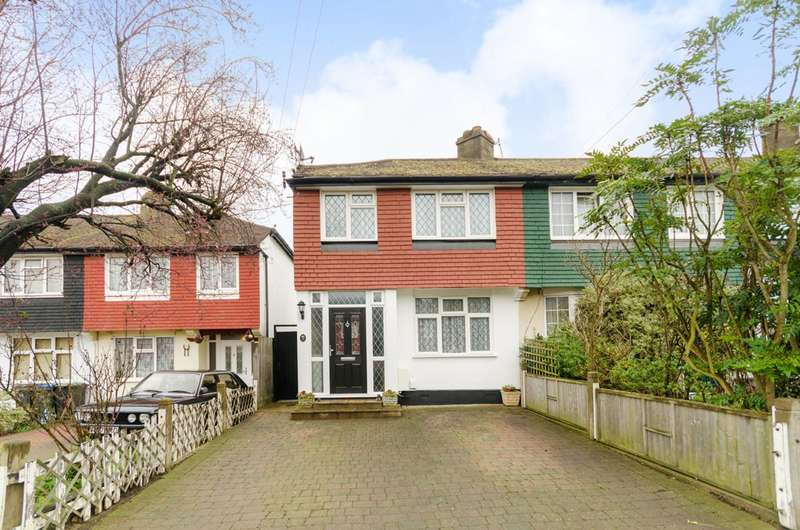 3 Bedrooms End Of Terrace House for sale in Meadway, Surbiton, KT5