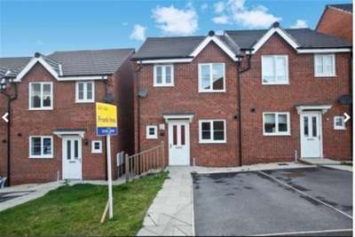 3 Bedrooms Semi Detached House for rent in East Street, Chesterfield
