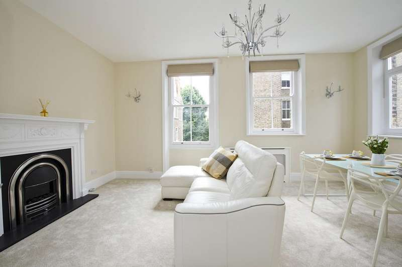 2 Bedrooms Flat for sale in Wetherby Mansions, London SW5